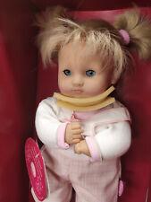 Götz Puppe Sally Spielpuppe Weichpuppe Babypuppe blond wie Muffin Cosi Aquini