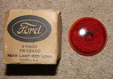 NOS 1937 Ford Taillight Lens # 78-13450