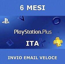 PS Plus PlayStation Plus 6 mesi(+1 MESE GRATIS) 5€!!! PS4