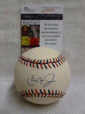 Cal Ripken Jr Signed Baltimore Orioles 1997 All Star Baseball Indians JSA N49458
