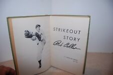Strikeout Story by Bob Feller-Signed First Edition 1947-Cleveland Indians HC