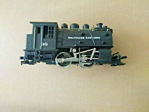HO Scale Baltimore And Ohio Steam Switcher  #98 Riverrossi tested, runs nice one