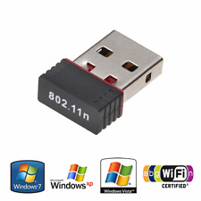 Wireless Network Card Mini USB Dongle WiFi Adapter Internet For Laptop PC. 063
