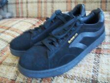 """Airspeed Footwear Mens 12 (45.5) Black """"Heritage"""" Suede Skate Shoes.MNAS47D"""