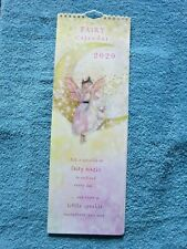 Beautiful Fairy Tall Slim Wall Calendar 2020. Fairies + Life Quotes. Ideal Gift.