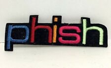 PHISH Multi Color Patch Jam Band