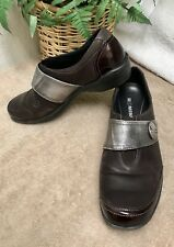 Romika Womens Loafers Flats US 6.5-7 EUR 37 Leather Patent Slip On Brown VGC