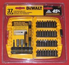 New DeWALT 37 Piece Screwdriving SCREW DRIVING (Mixed) SET. Model # DW2176 TWR20