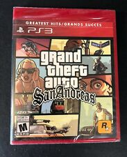 Grand Theft Auto [ San Andreas ] (PS3)  NEW