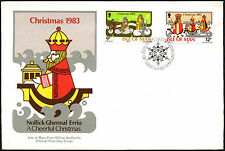 Isle Of Man 1985 Christmas FDC First Day Cover #C40988
