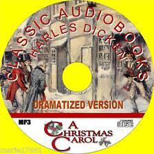NEW A Christmas Carol Classic Charles Dickens Novel DRAMATIZED Audiobook MP3CD