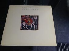 1986 PAUL SIMON 'GRACELAND' LP VINYL UK RELEASE WX 52 PLAYED