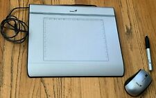 "Genius MousePen i608 Pen Tablet - Silver 8x6"" Tablet with Mouse & Stylus Pen"