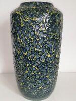 Keramik Vase SCHEURICH Floorvase Bodenvase Fat Lava 517 - 38 WGP 50er 60er 70er