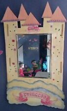 Custom made childrens Mirror, Play with or decorate room. Boys or Girls design.