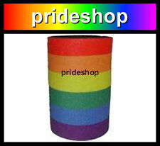 Rainbow Stubby Holder Drink Cooler Genuine Gay And Lesbian Pride Colours  #93