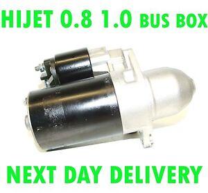 DAIHATSU HIJET 0.8 1.0 BUS BOX 1986 1987 1988 1989 > 1998 STARTER MOTOR