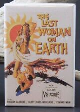The Last Woman on Earth Movie Poster - Fridge Magnet. Roger Corman