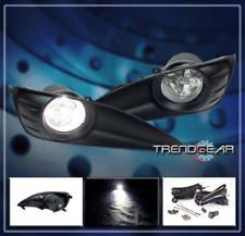 2009-2013 TOYOTA MATRIX BASE JDM BUMPER LED CLEAR FOG LIGHTS LAMP+SWITCH+HARNESS