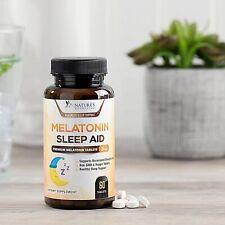 Melatonin Extra Strength 3mg Chewable Sleep Aid for Adults, 60 Tablets