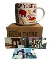 Starbucks New York Coffee Mug Cup Been There Series Statue Of  Liberty 3 Bonus