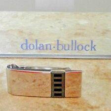 DOLAN BULLOCK 92.5 sterling silver spring loaded  money clip