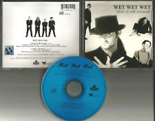 WET WET WET Love is All Around w/ UNRELEASED TRK USA LIMITED CD single 1993