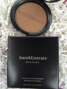 BARE MINERALS Endless Summer Bronzer FAUX TAN .35oz/10g Full Size - NEW in Box!