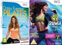 Nintendo Wii Video Game Buy 1 or Bundle Up Just Dance 1 3 4 2014 Juniors Fit