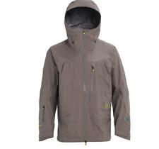 Burton AK Tusk 3L Jacket Grey Size Medium