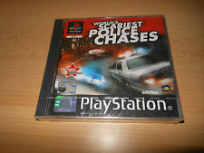 Worlds Scariest Police Chases PS1 PAL New Sealed