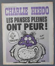►CHARLIE HEBDO N°157  - NOVEMBRE 1973 - REISER
