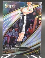 2019-20 Select Luka Samanic Courtside Silver Prizm