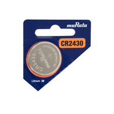 Murata CR2430 280mAh 3V Lithium (LiMnO2) Coin Cell Watch Battery - 1 Piece