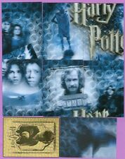 Lot of 8 Different - Harry Potter World 3D Series 2 Chase Cards: