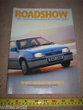 Vauxhall Opel Magazine 1984 CAR Astra GTE etc Car Vehicle Vintage Collectable