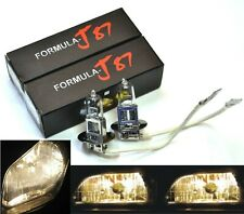 Halogen H3 55W 3800K Stock Two Bulbs Fog Light Fit Replace Lamp Plug Aftermarket