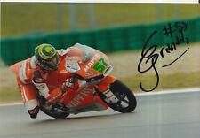 Eric Granado mano firmado 7x5 Foto Mapfre Aspar Moto 3 MotoGP 3.