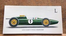 Fab Vintage M&S Boxed Gents Hankerchiefs/Lotus Classic Car Design/L Initialled