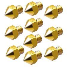 10x ugello per soffiaggio 0.4mm/Nozzle per 1.75mm filamento-CNC/Reprap/STAMPANTE 3d