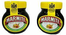 TWIN PACK - MARMITE Yeast Extract Spread - 250g x 2 Jars - BEST OF BRITISH Vegan