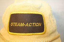 Steam-Action Truck Mount Cleaners Corduroy Patch Braid Tan Cap Hat Snapback
