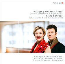 Mozart Clarinet Concert / Symphony No 5, New Music