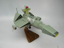 Desslock Starblazers Command Ship Spacecraft Wood Model Big New