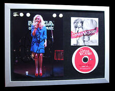 DIANA VICKERS+SIGNED+FRAMED+CHERRY TREE+BOYS=100% AUTHENTIC+EXPRESS GLOBAL SHIP