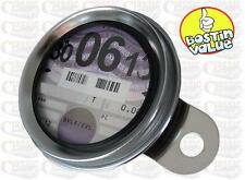 TAX DISC HOLDER IDEAL FOR CHOPPER BOBBER / CUSTOM /CLASSIC MOTORCYCLE