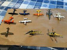 Vintage Metal Toy airplanes