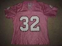 Arizona Cardinals Edgerrin James #32 Pink NFL Jersey Women's SM S