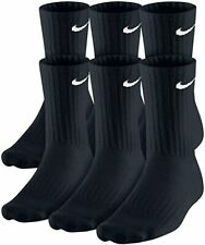 Nike Everyday Cotton Crew Socks with DRI- FIT Technology 1,2,3, or 6 Pairs!!