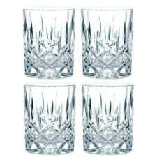 Nachtmann Noblesse Whisky Tumblers Glasses set of 4 in a Box - New